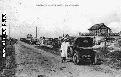 Ancienne Photo des rues de la commune